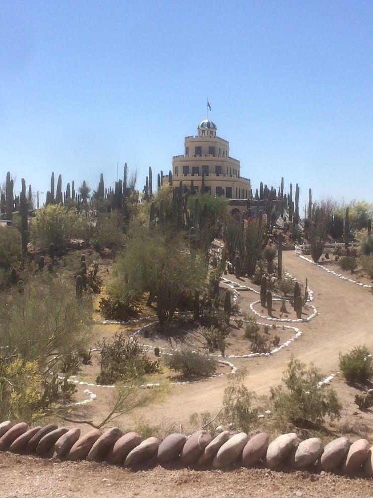 Tovrea Castle and Carraro Cactus Garden