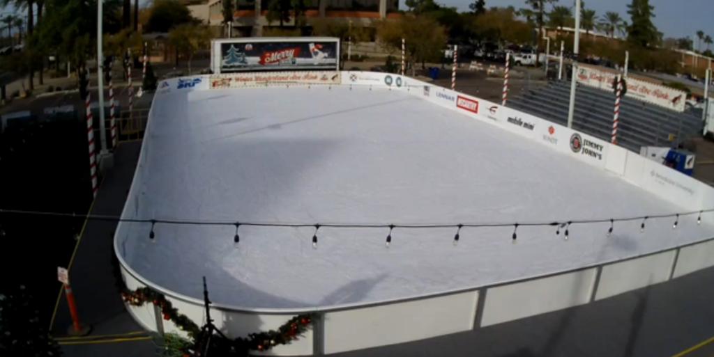 merry main ice skating